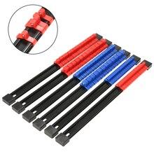 купить 6PCS ABS Plastic Socket Holder Mountable Sliding Socket Storage Rail Rack Organizer 1/4 3/8 1/2 Drive with Socket Clips дешево