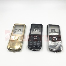 RTBESTOYZ  For Nokia 6700 Classic 6700C New Full Housing Cover Case Russian English Keyboard Black Silver golden
