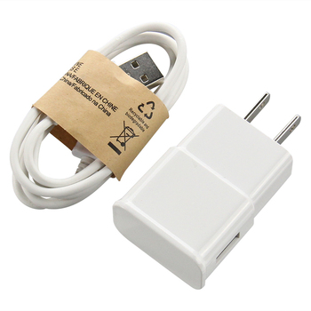 100sets 5V 1A EU US Plug Wall Charger with USB data Cable Sync Micro Mobile phone For Samsung Galaxy S7 Edge S6 S5 Phone - sale item Mobile Phone Accessories
