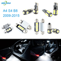 XIEYOU 14pcs LED Canbus Interior Lights Kit Package For A4 S4 B8 (2009-2015)