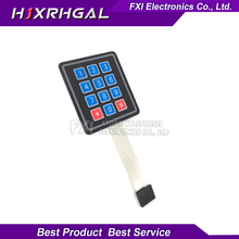 1pcs 12 Key Membrane Switch Keypad 4×3 4*3 Matrix Array Matrix keyboard new