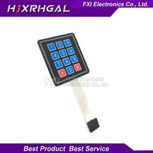 1pcs 12 Key Membrane Switch Keypad 4×3 4*3 Matrix Array Matrix keyboard new