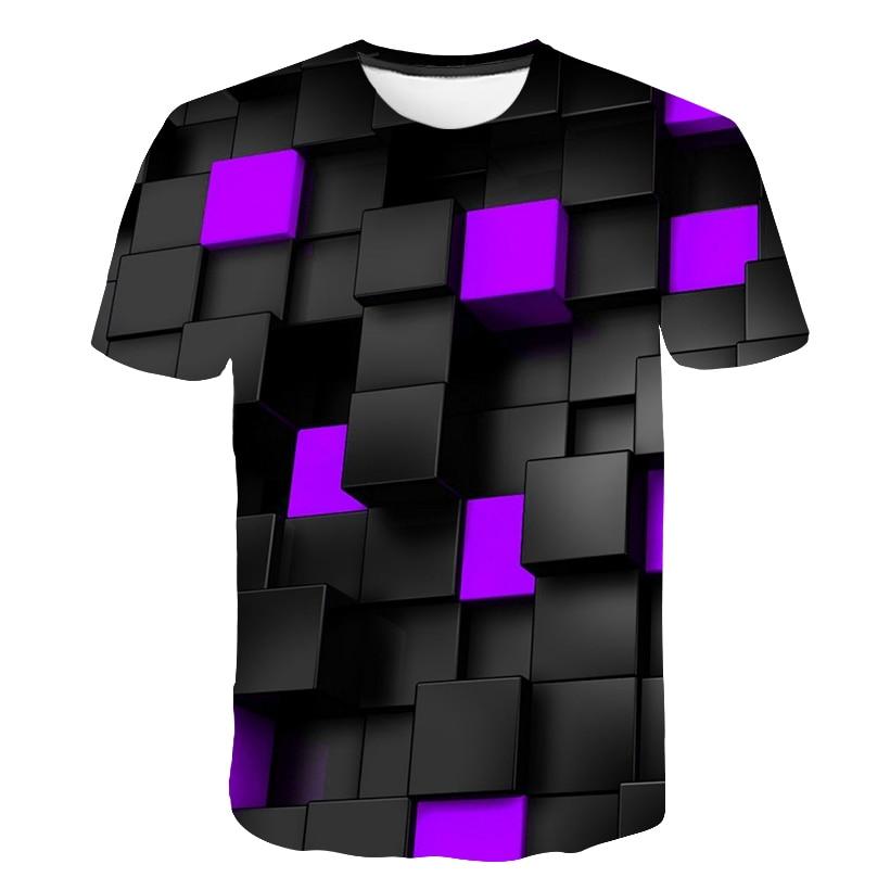 2019 New 3D Printing Animal Cool Interesting T-shirt Men's Short Sleeve Summer Top T-shirt T-shirt Men's Fashion T-shirt