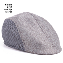 Director de La Boina sombrero de verano ancianos de Mediana edad cap  headwear del Hombre viejo sombrero 57-58 cm c83a0943887