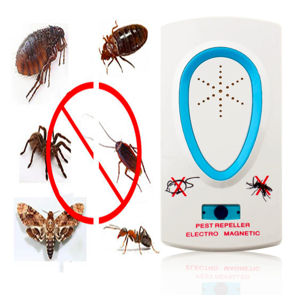 2018 Useful High Quality EU Plug Electrical Ultrasonic <font><b>Pest</b></font> Repeller for Lustrating Mouse Rat Bug Mosquito Insect Rodent Control