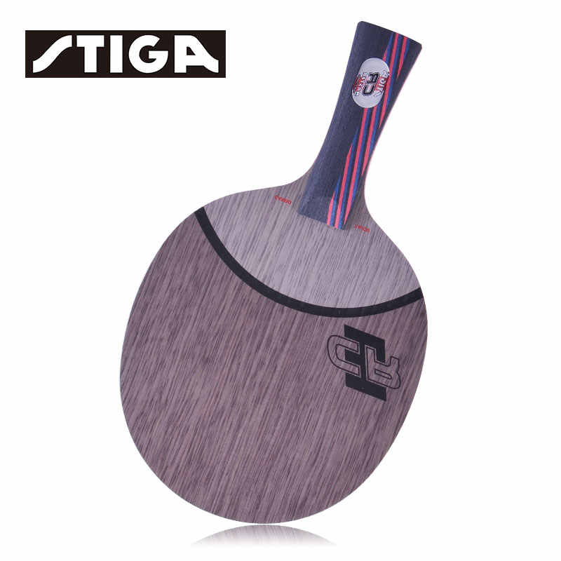Original Stiga Carbo 7.6 Wrb Hollow handle Carbo 7.6 Cr  Table Tennis Racket Ping Pong Blade  Professional (7 Wood +6 Carbon )