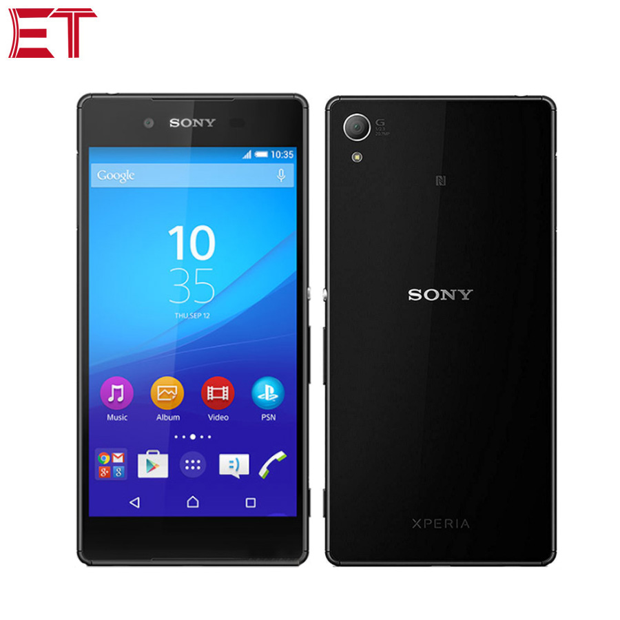 """New Sony Xperia Z3+ Z3 Plus E6553 4G LTE Mobile Phone 5.2"""" 3GB RAM 32GB ROM Snapdragon810 Octacore Android phone Google Play NFC-in Cellphones from Cellphones & Telecommunications    1"""