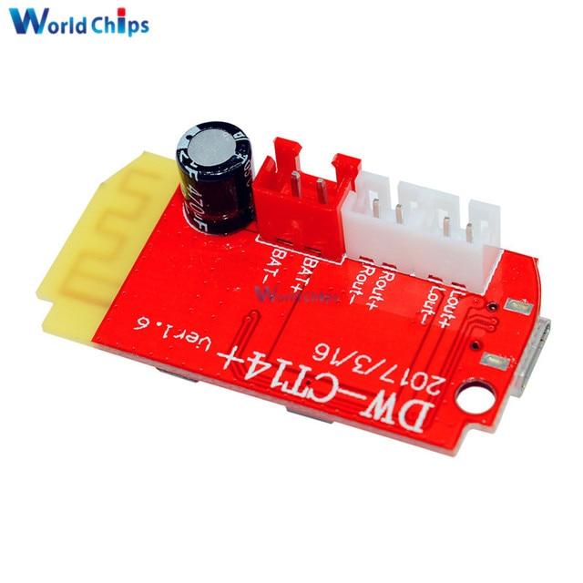 DC 3.7V 3W Amplifier Board Bluetooth Speaker 5