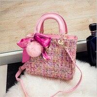 The Latest Fashion Women Clutch Woolen High Quality Women S Handbags Large Capacity Women S Shopping