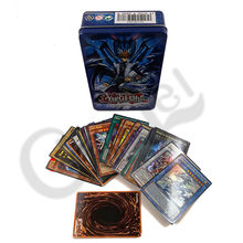 60PCS/Set Yugioh Rare Flash Cards Yu Gi Oh Game Paper Cards Kids Toys Girl Boy Collection Yu-Gi-Oh Cards Christmas Gift With Box(China)