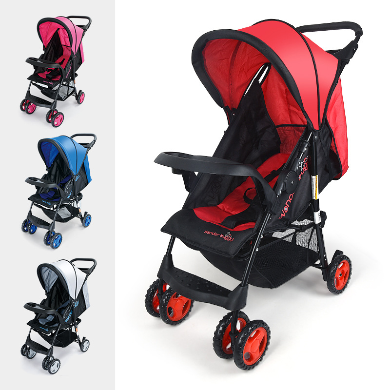 Lightweight Baby Stroller 5.4KG Folding Carriage Buggy Pushchair Pram Infant Carriage certified baby products baby buggy stroller with pad 600d oxford fabric kids pram and strollers 4 colors infant carriage on sale