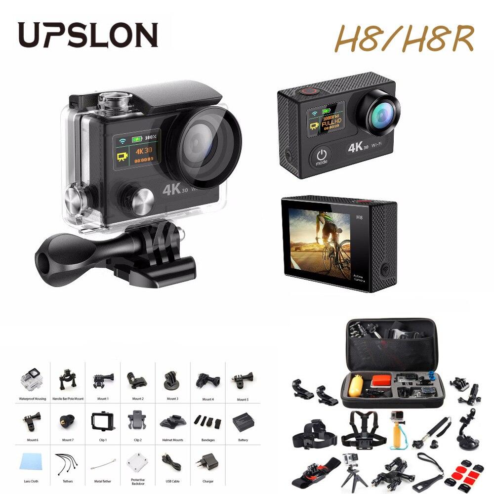 Upslon EKEN H8 H8R Action font b Camera b font Ultra 4K 30fps 12MP WiFi 2