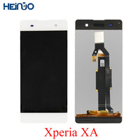 Original lcd For Sony Xperia XA LCD Display pantalla for F3111 F3112 F3113 F3115 F3116 touch Screen Assembly+frame Replace Part