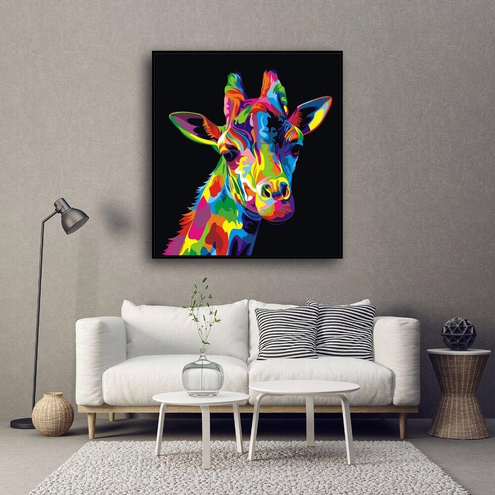 Atemberaubend Abstrakte Giraffe Malvorlagen Zeitgenössisch ...