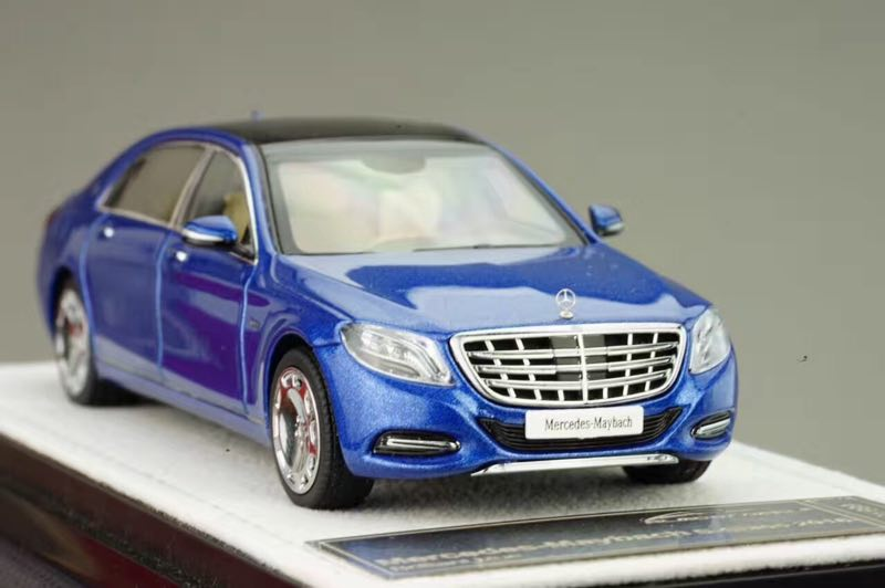 Diecast Car Model Almost Real 1 43 Mercedes maybach s class 2016 Blue SMALL GIFT