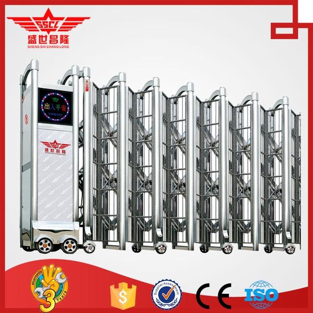 Wholesale Supplier Motorized Valve Folding Main Collapsible Gate  Design J1426