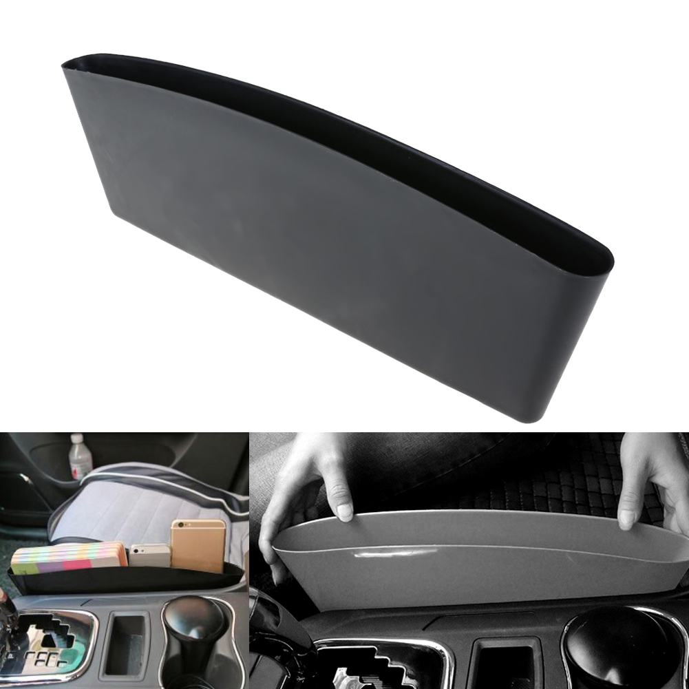 Black Car Seat Organizer Car-Styling Car Seat Seam Bag Useful Pocket Holder Storage Pouch Phone Purse Coins Key Storage Pocket