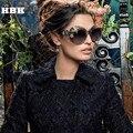 Fashion New 2016 Brand Luxury Sunglasses Statement Women Jewelry Sun glasses Flower Decoration Vintage Shades Gafas