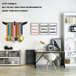 Image 3 - Sport medal hanger Medal display rack for running,swimming,gymnastics Metal medal holder for 20+ medals
