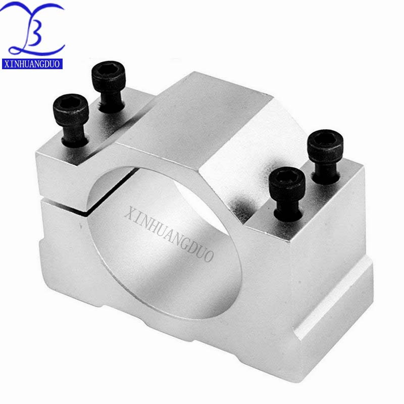 Крепежный кронштейн шпинделя 52 мм для ER11, 300 Вт, 400 Вт, 500 Вт, двигатель шпинделя постоянного тока, алюминиевый литой кронштейн