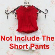 Kids Child Girls Blouse Shirts Sleeveless