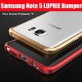 Примечание 5 случай оригинальный LUPHIE авиационного алюминия металлический каркас бампера для Samsung Galaxy note5 случае примечание 5 тяжелых случаях
