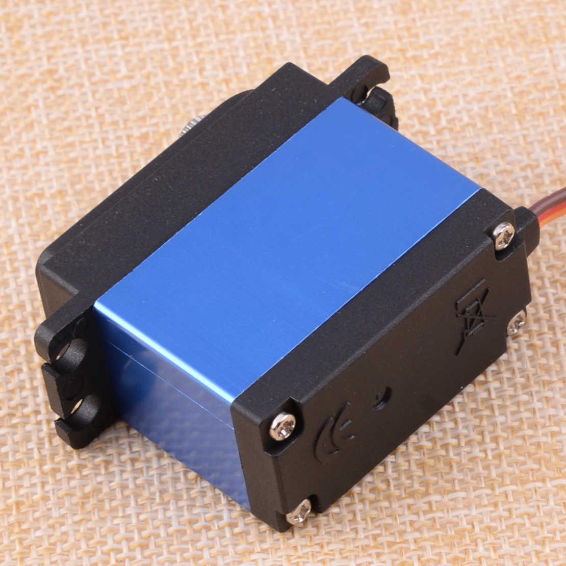 LETAOSK LW-20MG puissance HD étanche 4.8-6.6 V Super couple numérique Servo aluminium pour chenille RC voitures bateau moteur à courant continu