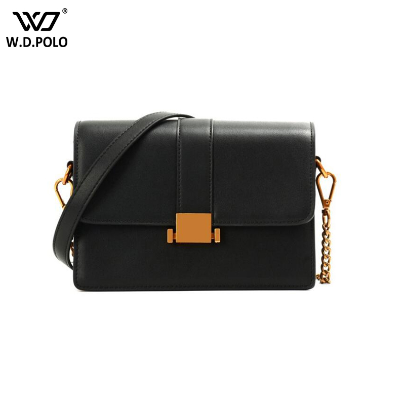 WDPOLO Luxury Women Genuine Leather Bag Ladies Messenger Bags Women Famous Brands Designer Female Handbag Shoulder Bag C526 luxury women genuine leather messenger bags sheepskin handbags lady famous brands designer handbag shoulder back bag sac ly157 page 3