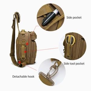 Image 3 - Mochila De Pesca bolsas de escalada mochila de hombro militar al aire libre, mochila para deporte, Camping, bolsa de pesca Molle Army XA36G
