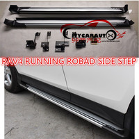 CITYCARAUTO FREE SHIPPING 4*4 CAR ACCESSORIES RUNNING BOARD SIDE STEP FOR RAV4 CAR 2014 2016