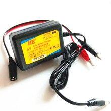 Xách tay 6 v thông minh sạc pin axít chì adapter agm vrla pin điện đồ chơi xe hơi sạc dc7.2v 1a với 3.5 mét và 2 * clip