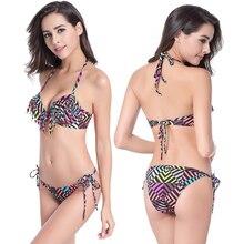 2017 Newest Summer Sexy Bikini Women Swimwear Occidental Secret Beach Swimsuit 10 Colors M L XL