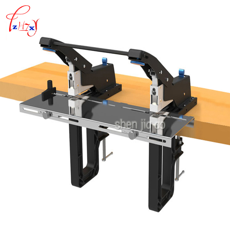 Double Head Manual Stapler Paper Easy Conversion SH-04G Binding Machine Safe Energy Saving Type Stapler 1PC