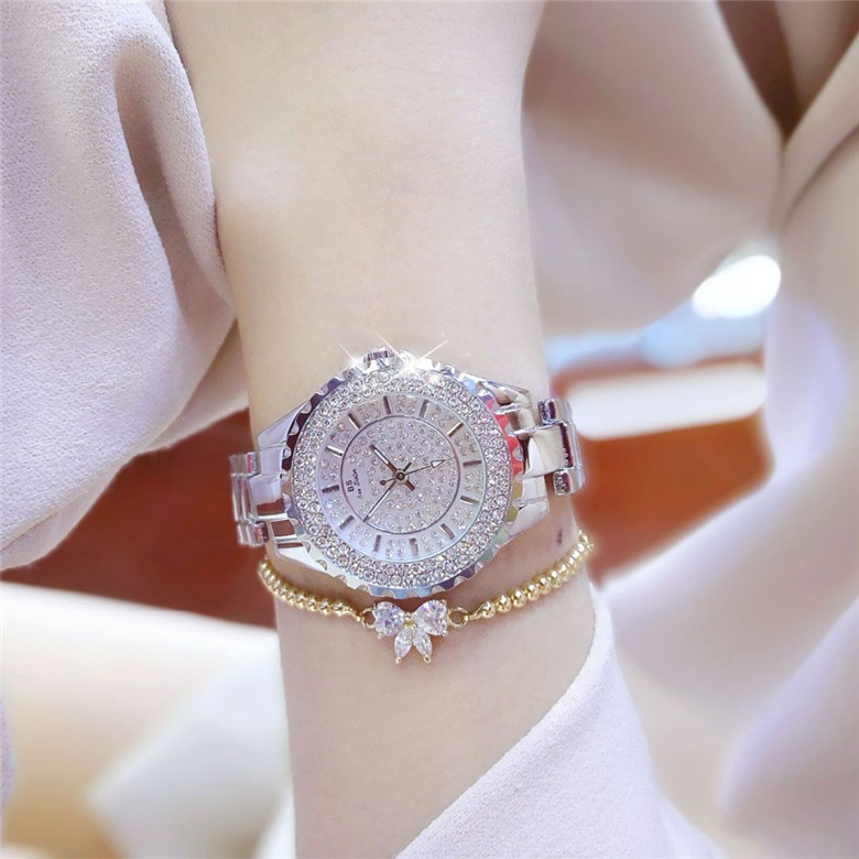 2018 New Fashion Rhinestone Ladies Watch reloj mujer Luxury Lady - Կանացի ժամացույցներ - Լուսանկար 1