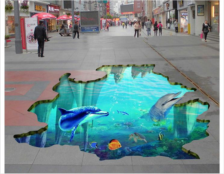3d Wallpaper Custom Mural 3d Pvc Floor Painting 3d Floor