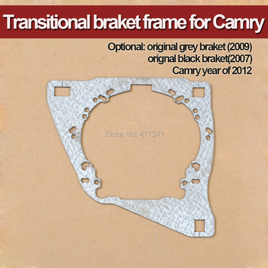 Бесплатная доставка кронштейн держатель для Toyota Camry 2009 фар автомобиля заменить HID Биксеноновая объектив проектора Q5 Koito HL g3/G5