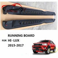 CITYCARAUTO CAR ACCESSORIES EXTERIOR AUTO PARTS Nerf Bars ALLOY RUNNING BOARD FIT FOR TOYTA HILUX REVO PICKUP CAR 2015 2017