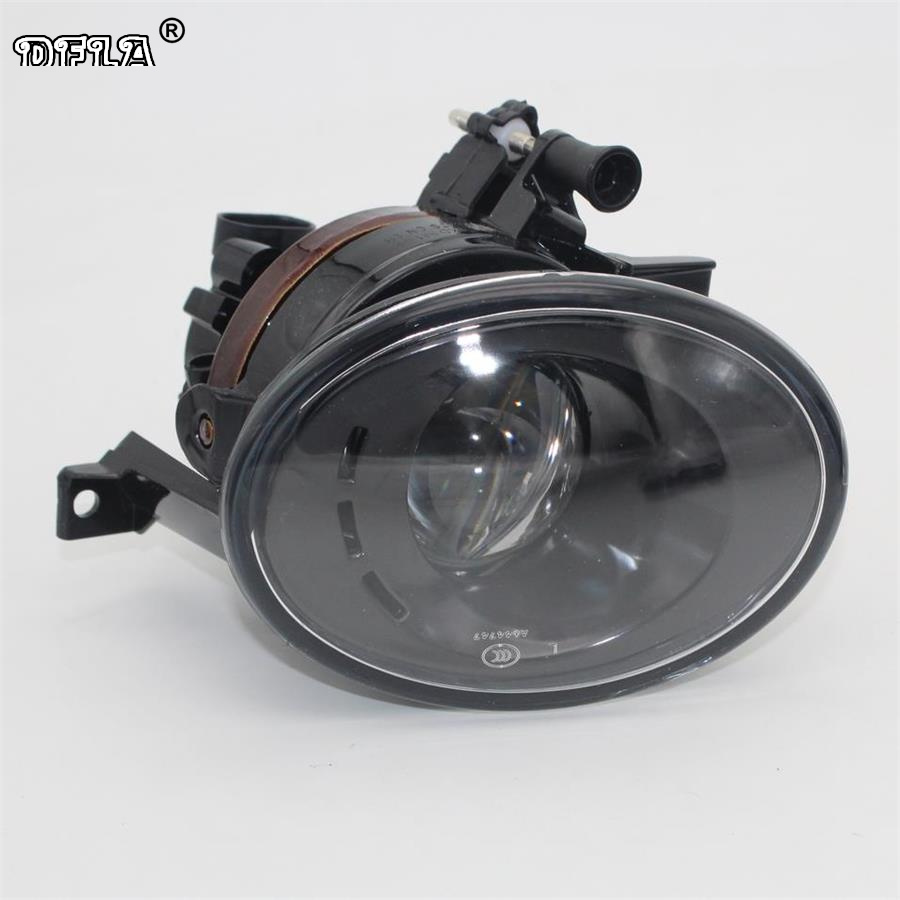 Left Side Car Light For VW Vento Variant 2010 2011 2012 2013 2014 Car-styling Front Fog Light Fog Lamp With Convex Lens right side for vw polo vento derby 2014 2015 2016 2017 front halogen fog light fog lamp assembly two holes