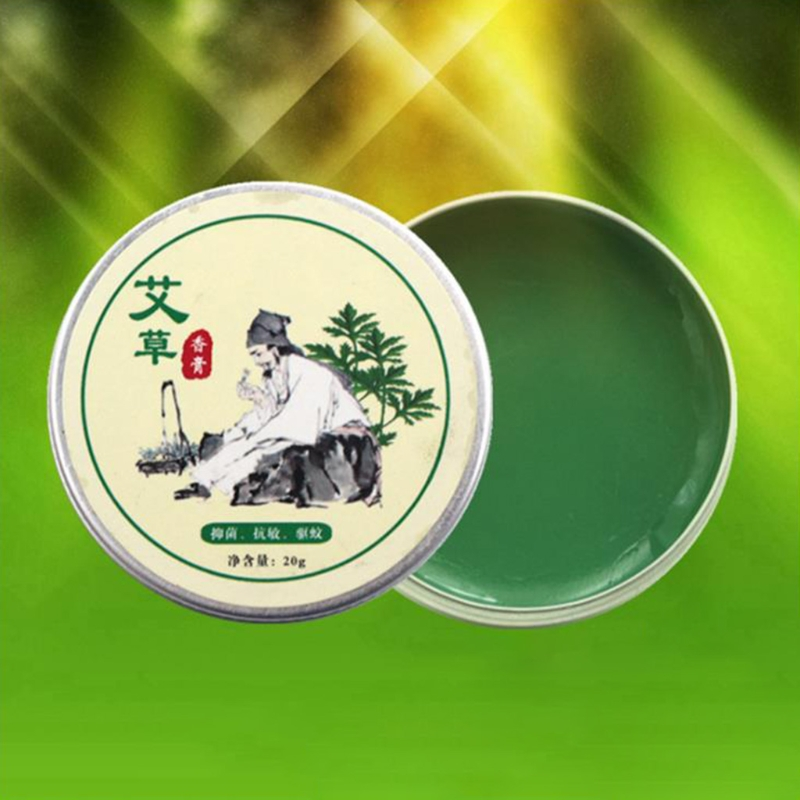 Skin Care Repair Essential Massage Oil Relief Arthritis Neck/ Back Pain Herbal Moxa Moxibustion Cream Balm Mugwort Health