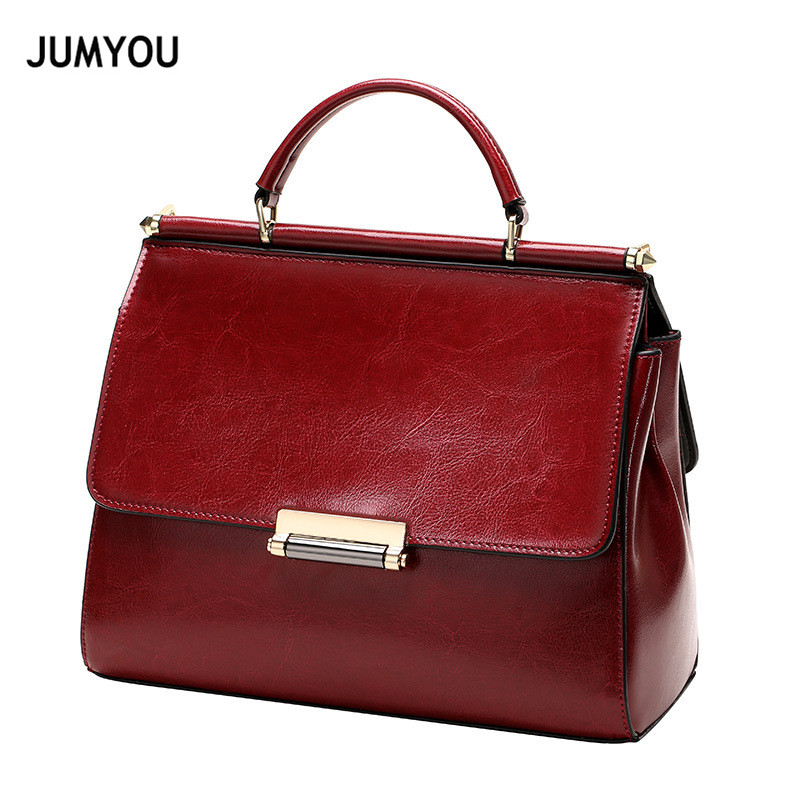 Handbags For Women Split Leather Fashion Soft Sequined Red Wine Sac A Main Crossbody Bags For Female Messenger Bags For Ladies-in Top-Handle Bags from Luggage & Bags    1