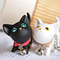 Cute Animal Cat Keychain For Women men Couple Key Chain Bag Pendant Key Ring Key Holder Creative Gift
