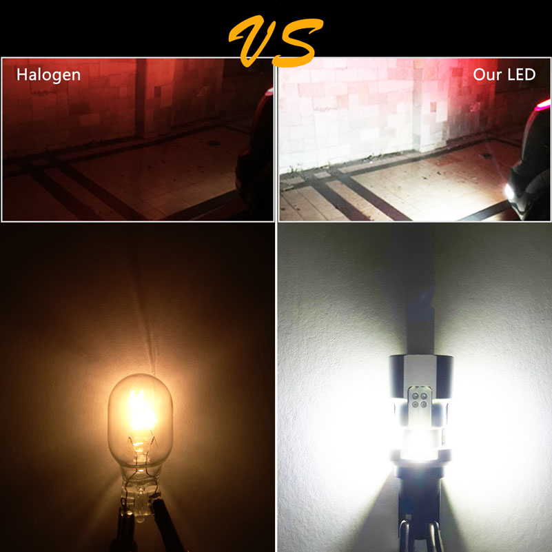 Image 5 - OXILAM 1000lm T15 W16W LED Canbus 921 912 Wedge Reverse Light Bulb High Power Super Bright Car Exterior Lamp 6500K White-in Signal Lamp from Automobiles & Motorcycles