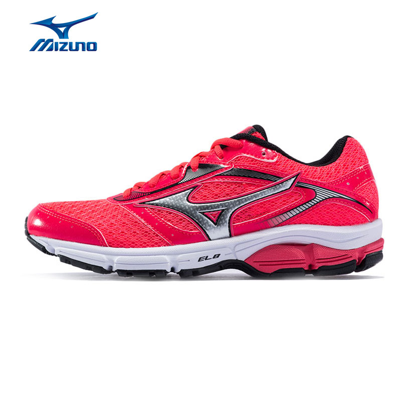 MIZUNO Women's WAVE IMPETUS 4 Jogging Running Shoes Breathable Stable Sports Shoes Sneakers J1GD161304 XYP533 кроссовки mizuno кроссовки wave impetus 3
