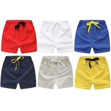 202947e27 Kids Summer 2019 New Cotton Beach Shorts Toddler Pants For Boys Girls 1-5  Years