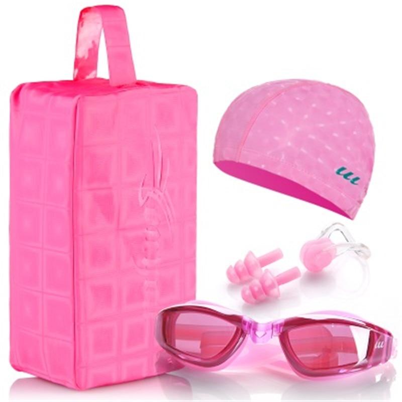 Waterproof swimming cap men and women swimming goggles ...