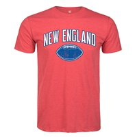 New England Football ADULT Print Short Sleeve T Shirt Normal Short Sleeve Cotton T Shirts Printing
