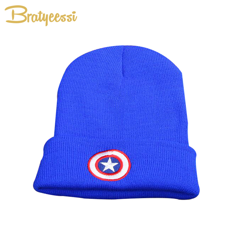 Fashion Winter Baby Hats for Boys Elastic Star Baby Beanie Hat Knit Toddler Infant Cap Accessories 1 PC