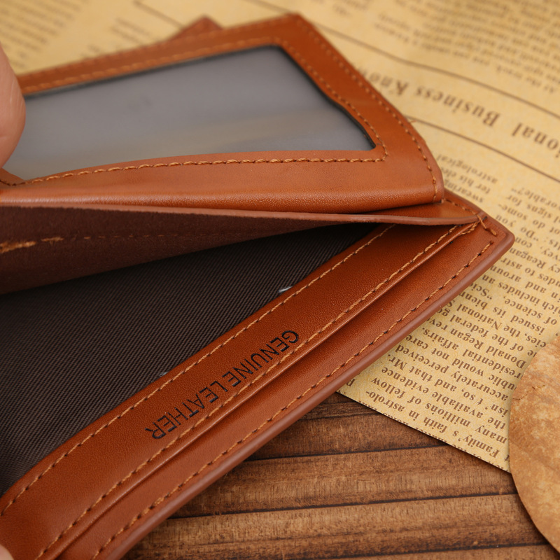 Small Slim Famous Brand Handy Portfolio Leather Men Wallet Purse Male Clutch Bag With Money Portomonee Walet Cuzdan Vallet Perse 2