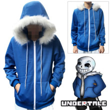 Game Undertale Sans Skeleton Brother Cosplay Costumes Hoodie Shorts Sweatshirt Coat