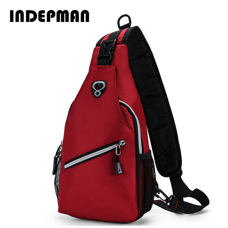 Hot 2016 Fashion Chest Bag Crossbody Sling Bag for Men Women High Quality Nylon Waterproof Casual Messenger Bag Small Chest Pack casual canvas satchel men sling bag